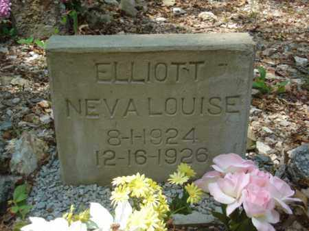 ELLIOTT, NEVA LOUISE - Izard County, Arkansas | NEVA LOUISE ELLIOTT - Arkansas Gravestone Photos