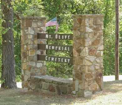*MT. OLIVE CEMETERY MEMORIAL S,  - Izard County, Arkansas |  *MT. OLIVE CEMETERY MEMORIAL S - Arkansas Gravestone Photos