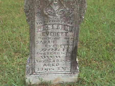 EVERETT, JESSA H. - Izard County, Arkansas | JESSA H. EVERETT - Arkansas Gravestone Photos