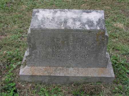 FELTS, ELIJAH RUFUS - Izard County, Arkansas   ELIJAH RUFUS FELTS - Arkansas Gravestone Photos