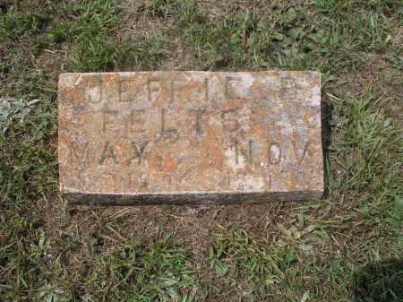 FELTS, JEFFE BELLE - Izard County, Arkansas   JEFFE BELLE FELTS - Arkansas Gravestone Photos