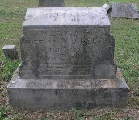 COLEMAN FELTS, MARY ANN - Izard County, Arkansas | MARY ANN COLEMAN FELTS - Arkansas Gravestone Photos