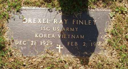 FINLEY  (VETERAN 2 WARS), DREXEL RAY - Izard County, Arkansas   DREXEL RAY FINLEY  (VETERAN 2 WARS) - Arkansas Gravestone Photos