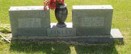 FINLEY, MAGGIE NORA - Izard County, Arkansas | MAGGIE NORA FINLEY - Arkansas Gravestone Photos
