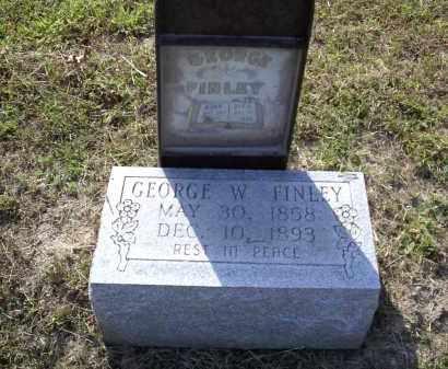 FINLEY, GEORGE W. - Izard County, Arkansas | GEORGE W. FINLEY - Arkansas Gravestone Photos