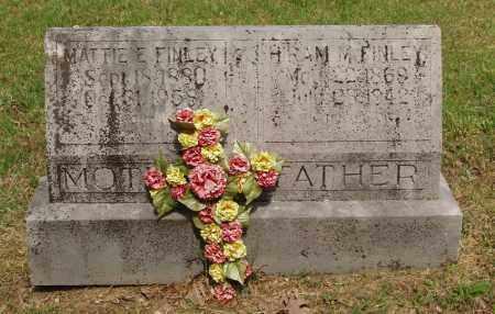 """FINLEY, MARTHA """"MATTIE"""" E - Izard County, Arkansas   MARTHA """"MATTIE"""" E FINLEY - Arkansas Gravestone Photos"""
