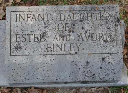 FINLEY, INFANT DAUGHTER - Izard County, Arkansas | INFANT DAUGHTER FINLEY - Arkansas Gravestone Photos