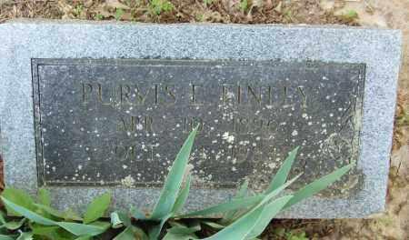 FINLEY, PURVIS EVERTON - Izard County, Arkansas   PURVIS EVERTON FINLEY - Arkansas Gravestone Photos