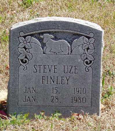FINLEY, STEVE UZE - Izard County, Arkansas   STEVE UZE FINLEY - Arkansas Gravestone Photos