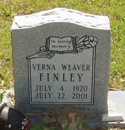 WEAVER FINLEY, VERNA ELIZABETH - Izard County, Arkansas | VERNA ELIZABETH WEAVER FINLEY - Arkansas Gravestone Photos