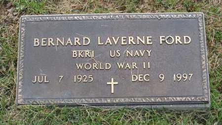 FORD  (VETERAN WWII), BERNARD LAVERNE - Izard County, Arkansas | BERNARD LAVERNE FORD  (VETERAN WWII) - Arkansas Gravestone Photos