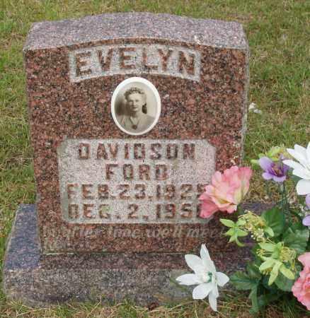 DAVIDSON FORD, EVELYN RHUDENE - Izard County, Arkansas | EVELYN RHUDENE DAVIDSON FORD - Arkansas Gravestone Photos