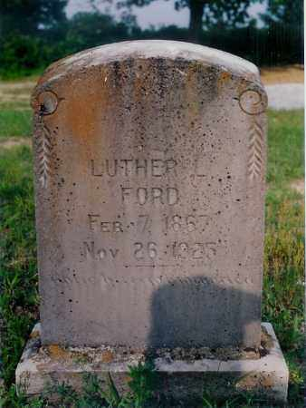 FORD, LUTHER L. - Izard County, Arkansas   LUTHER L. FORD - Arkansas Gravestone Photos