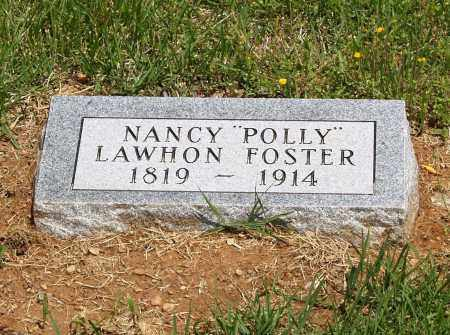 "FOSTER, NANCY ""POLLY"" - Izard County, Arkansas 