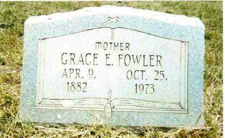 TUCKER FOWLER, GRACE E. - Izard County, Arkansas | GRACE E. TUCKER FOWLER - Arkansas Gravestone Photos
