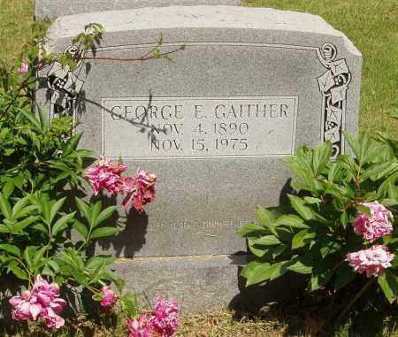 GAITHER, GEORGE E - Izard County, Arkansas | GEORGE E GAITHER - Arkansas Gravestone Photos