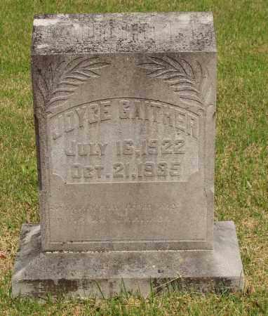 GAITHER, JOYCE - Izard County, Arkansas | JOYCE GAITHER - Arkansas Gravestone Photos