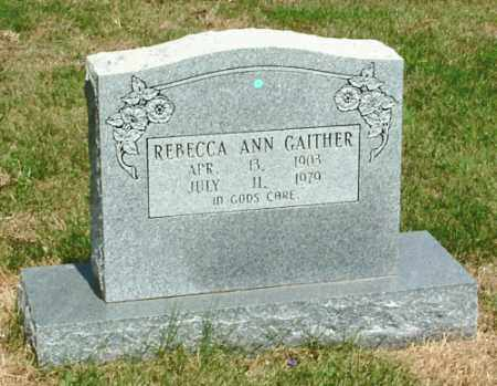 GAITHER, REBECCA ANN - Izard County, Arkansas | REBECCA ANN GAITHER - Arkansas Gravestone Photos