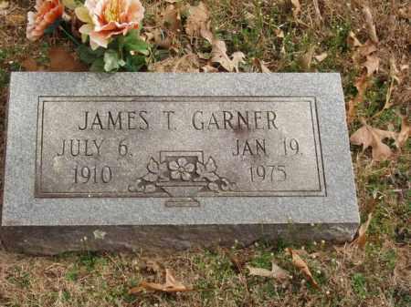 GARNER, JAMES T - Izard County, Arkansas | JAMES T GARNER - Arkansas Gravestone Photos