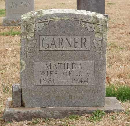 GARNER, MATILDA - Izard County, Arkansas | MATILDA GARNER - Arkansas Gravestone Photos