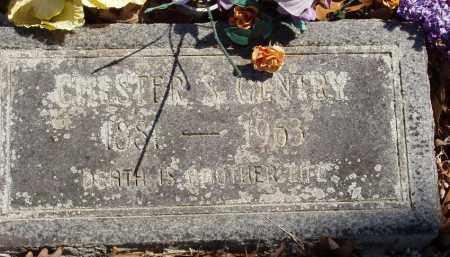 GENTRY, CHESTER S - Izard County, Arkansas | CHESTER S GENTRY - Arkansas Gravestone Photos