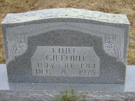 GIFFORD, ETHEL - Izard County, Arkansas | ETHEL GIFFORD - Arkansas Gravestone Photos