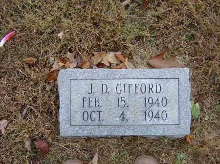 GIFFORD, J. D. - Izard County, Arkansas | J. D. GIFFORD - Arkansas Gravestone Photos