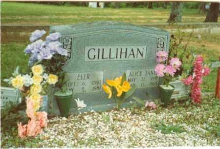 GILLIHAN, ALICE JANE - Izard County, Arkansas | ALICE JANE GILLIHAN - Arkansas Gravestone Photos