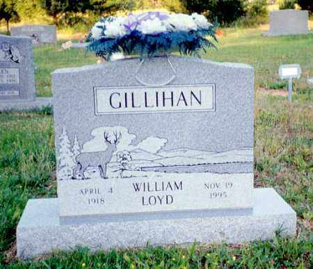 GILLIHAN, WILLIAM LOYD - Izard County, Arkansas | WILLIAM LOYD GILLIHAN - Arkansas Gravestone Photos