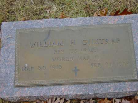 GILSTRAP (VETERAN WWII), WILLIAM HARRY - Izard County, Arkansas | WILLIAM HARRY GILSTRAP (VETERAN WWII) - Arkansas Gravestone Photos