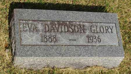 DAVIDSON GLORY, EVA ANN - Izard County, Arkansas | EVA ANN DAVIDSON GLORY - Arkansas Gravestone Photos