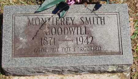 SMITH GOODWILL, MONTIEREY - Izard County, Arkansas | MONTIEREY SMITH GOODWILL - Arkansas Gravestone Photos