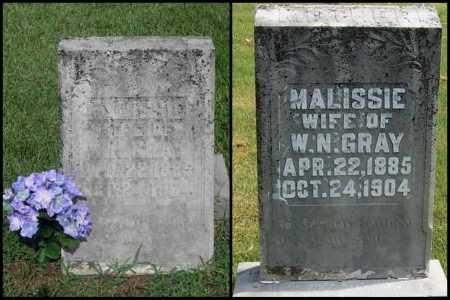 GRAY, MALISSIE - Izard County, Arkansas | MALISSIE GRAY - Arkansas Gravestone Photos