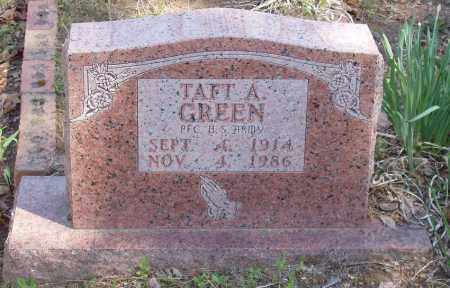 GREEN  (VETERAN), TAFT A - Izard County, Arkansas | TAFT A GREEN  (VETERAN) - Arkansas Gravestone Photos