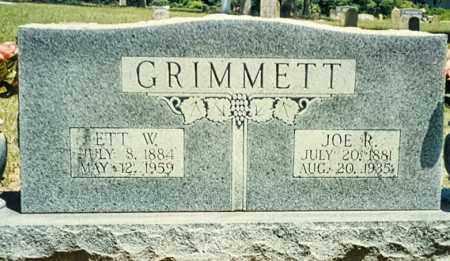 GRIMMETT, JOSEPH R. - Izard County, Arkansas | JOSEPH R. GRIMMETT - Arkansas Gravestone Photos