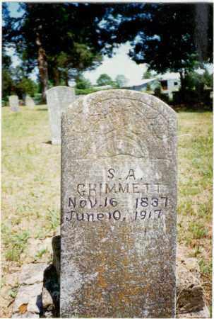 HAMMOND GRIMMETT, SARAH - Izard County, Arkansas | SARAH HAMMOND GRIMMETT - Arkansas Gravestone Photos