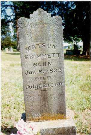 GRIMMETT (VETERAN CSA), HARVEY WATSON - Izard County, Arkansas | HARVEY WATSON GRIMMETT (VETERAN CSA) - Arkansas Gravestone Photos