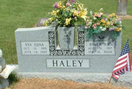HALEY, EVA EDNA - Izard County, Arkansas | EVA EDNA HALEY - Arkansas Gravestone Photos