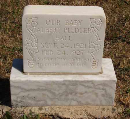 HALL, ALBERT PLEDGER - Izard County, Arkansas | ALBERT PLEDGER HALL - Arkansas Gravestone Photos