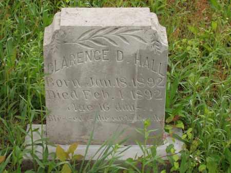 HALL, CLARENCE D - Izard County, Arkansas | CLARENCE D HALL - Arkansas Gravestone Photos