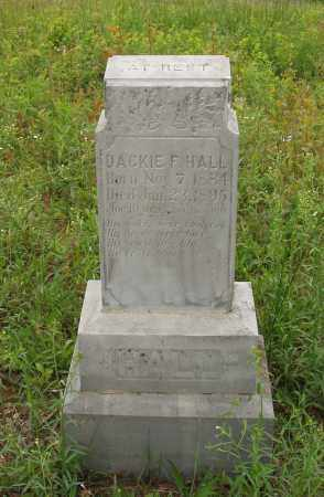 HALL, DACKIE F - Izard County, Arkansas | DACKIE F HALL - Arkansas Gravestone Photos