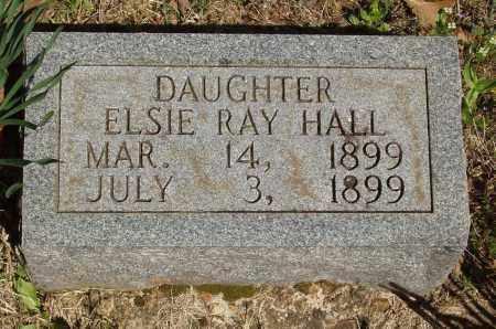 HALL, ELSIE RAY - Izard County, Arkansas | ELSIE RAY HALL - Arkansas Gravestone Photos