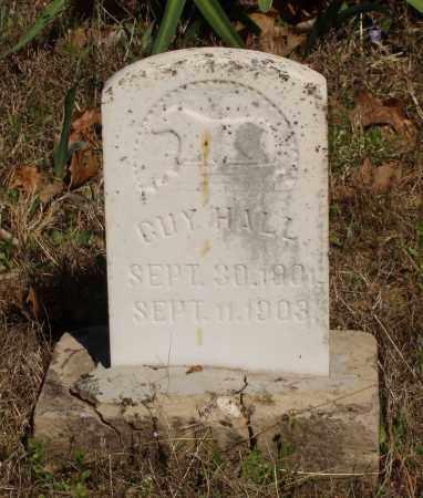 HALL, GUY - Izard County, Arkansas | GUY HALL - Arkansas Gravestone Photos