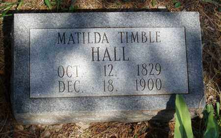 TRIMBLE HALL, MATILDA - Izard County, Arkansas | MATILDA TRIMBLE HALL - Arkansas Gravestone Photos