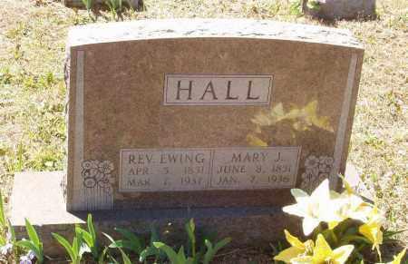 THOMPSON HALL, MARY JANE - Izard County, Arkansas | MARY JANE THOMPSON HALL - Arkansas Gravestone Photos