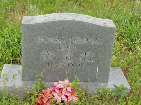 HALL, THOMAS DEMPSEY - Izard County, Arkansas | THOMAS DEMPSEY HALL - Arkansas Gravestone Photos