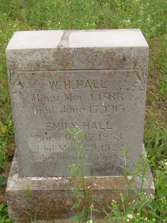HALL, W H - Izard County, Arkansas | W H HALL - Arkansas Gravestone Photos
