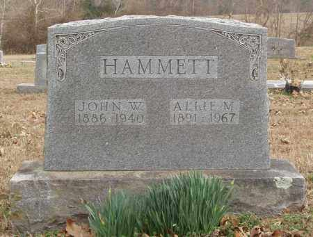 HAMMETT, JOHN W - Izard County, Arkansas | JOHN W HAMMETT - Arkansas Gravestone Photos