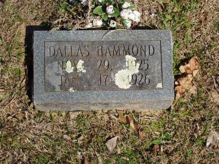 HAMMOND, DALLAS - Izard County, Arkansas   DALLAS HAMMOND - Arkansas Gravestone Photos