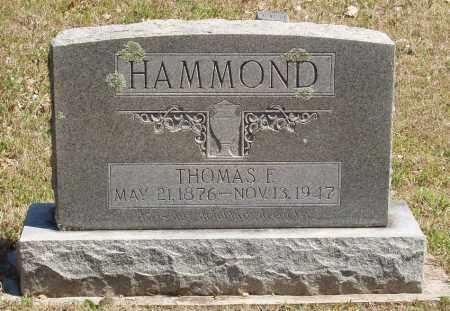 HAMMOND, THOMAS E - Izard County, Arkansas   THOMAS E HAMMOND - Arkansas Gravestone Photos